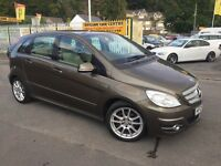 MERCEDES-BENZ B CLASS 1.7 B170 Sport CVT 5dr Auto (brown) 2009