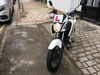 HONDA CBF 125cc white 16 plate hpi clear!!