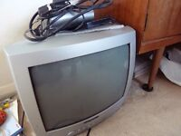 Wharfedale TV with free view box