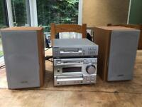 Sony DHC-MD373 and TCTX373 mini disc cassette hifi