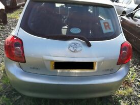 Toyota Auris 2008 Silver - For parts only!