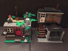 Lego huts, Lego houses