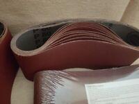 Belts HERMES for belt sander 610x100 mm 80grit (5 packs of 10)