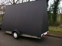 14ft x 8ft Advertising Trailer