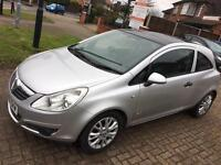 CORSA 1.2 ACTIVE PLUS VAUXHALL,SILVER,2010,MANUAL,6MTHS WRNTY,NEW BREAK DISCS & PADS, 12 MONTHS MOT