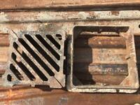 Road drainage gulley x2
