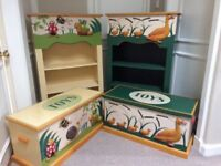 Children's furniture-toy boxes and cabinets