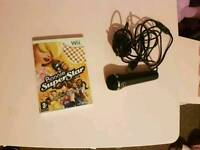 Nintendo wii Microphone & Boogie superstar