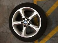 "BMW 1 series alloy 17"" (205-50-17) CHEAP WILL SELL FAST"