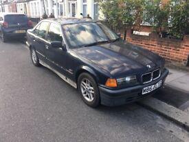 BMW E36, 1995 Genuine Low Mileage - 56500 - PROJECT