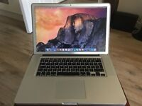 Apple Macbook Pro Intel i7 16GB Ram 256GB solid state drive with anti glare screen (late 2011)