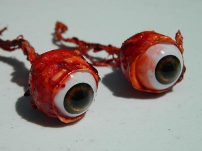 Halloween Horror Prop Realistic Life Size Pair of  Ripped Out Eyeballs -  FB01 (Life Size Horror Props)