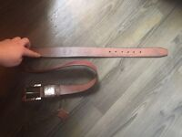 Brand new Diesel 100% leather belt