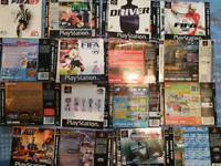 Playstation 1 manuals and inserts