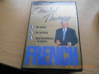 Michel Thomas 8 hour French course on cassette.