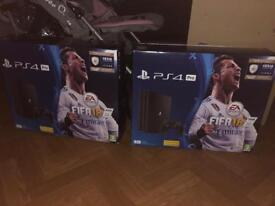 PlayStation 4 Pro Black 1tb consoles