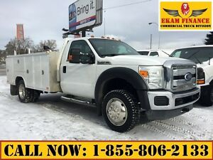 2011 Ford F-450 XLT Regular Cab 4X4 11FT Enclosed Service Body,