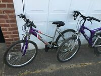 2 Mountain bikes + BMX for sale