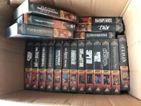 James Bond 007 VHS collection.