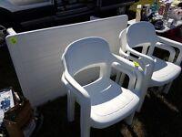 Allibert Garden Table & Chairs