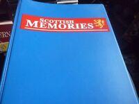 Scottish Memories magazines - first ten issues, in binder