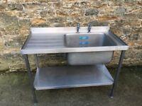 1200mm x 600mm sink unit