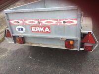 Erka trailer in good condition