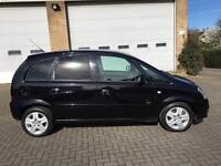 Vauxhall Meriva 1.4 petrol low mileage