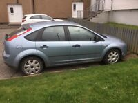 Ford Focus 1.6 TDCI 2005 plate