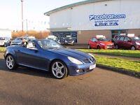 MERCEDES-BENZ SLK 3.0 SLK280 REDUCED £500 Automatic, Converti (blue) 2005
