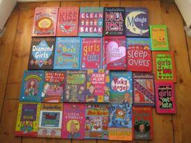 Set of 25 Jacqueline Wilson Books (10 Hardbacks, 15 paperbacks)