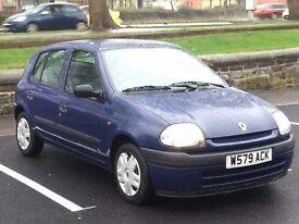 2000 (Mar W) RENAULT CLIO 1.2 LIBERTE - 5 Door Hatchback - Petrol - Manual - BLUE * 12 MONTHS MOT *