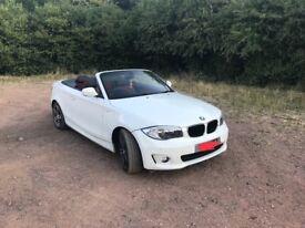 BMW 118D 1 series cabriolet *LOW MILES*