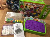 Leap frog leaping letters game