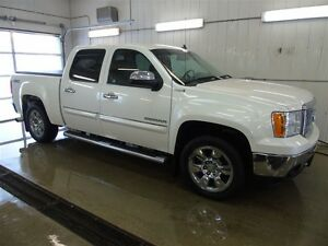 2010 GMC Sierra 1500 SLT 4x4, Leather Seating, 6 Tube Steps, Blu