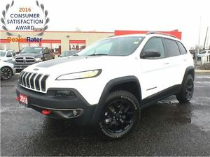 2016 Jeep Cherokee TRAILHAWK**NAVIGATION**BLIND SPOT MONITORING*