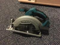 Makita cordless rip saw body only!