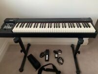 Roland RD64 Weighted Stage Piano with Stand and Soft Case