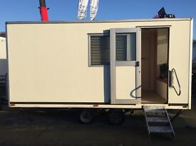 Exhibition trailer, mobile site office