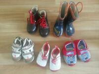 Boy's shoes (different sizes)