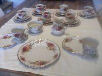 Vintage Tea Set (Price Reduced)