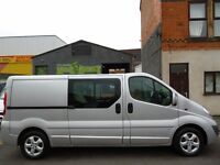 Finance Available at only £7.51 a day NO VAT Vauxhall Vivaro Sportive 2900 LWB 6 Seat Crew Cab (11)