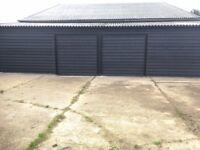 2 storage units. 10 mins from Ipswich.