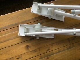 Pair of disability support handles