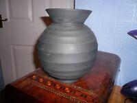 Black Wedgwood vase by Nick Munro