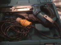 Makita 6843 auto feed screwdriver 110 volt