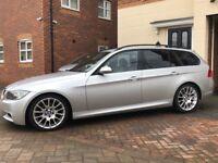 BMW 320D M SPORT SAT NAV LEATHER