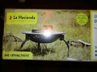 La Haciendo --- Avid Camping Firepit --- New and sealed in original box / packaging.