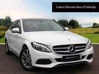 Mercedes-Benz C Class C220 D SPORT PREMIUM (white) 2017-02-28