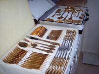 23/24 karat Bestecke sBs Solingen Cutlery Set